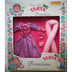 Vestito da sera rosa per bambola Tanya Primadonna