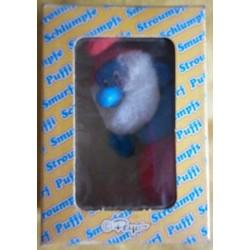 Peyo Grande Puffo pezza fiammiferino 1982
