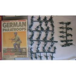 Airfix soldatini WWII Paracadutisti Tedeschi H0/00