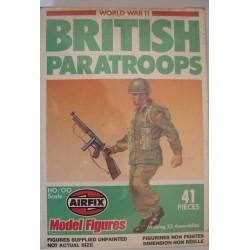 Airfix soldatini WWII Paracadutisti Inglesi H0/00