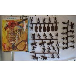 Airfix soldatini Cowboys H0/00