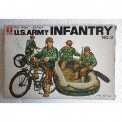 Bandai soldatini fanteria americana 1/48