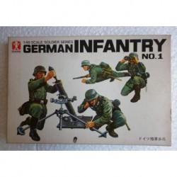 Bandai soldatini Fanteria tedesca 1/48