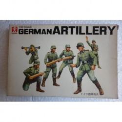 Bandai soldatini Artiglieria tedesca 1/48