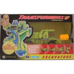 Hasbro Transformers Gen.2 Distructor Excavators Rollo 1994