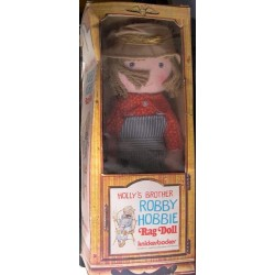 Knickerbocker bambola Robby fratello di Holly Hobbie 35 cm