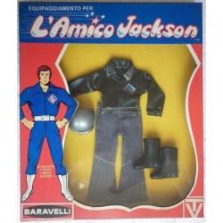 Mego Amico Jackson tenuta motocross 1971