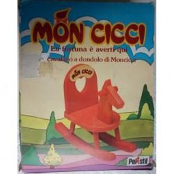 Polistil Moncicci Monchhichi cavallino a dondolo 1974