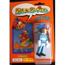 Zooland personaggio Pippo poliziotto Goofy-Dingo 1985