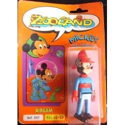 Zooland personaggio Topolino vigile del fuoco 1985