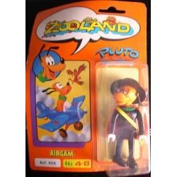 Zooland personaggio Pluto Zorro 1985