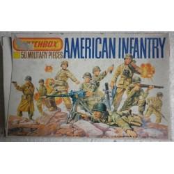 Matchbox soldatini fanteria americana 1/76