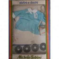 Grembiule scuola per bambola Michela con dischi Zecchino d'Oro