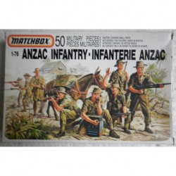 Matchbox soldatini fanteria Anzac 1/76