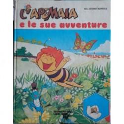 Libro cartonato L'Ape Maia e le sue avventure 1980