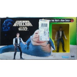Kenner Tonka Guerre Stellari Jabba The Hutt e Han Solo 1997