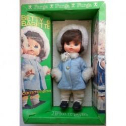 Furga Betty e Babette bambola Babette cammina 1971