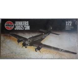 Airfix aereo da guerra Junkers JU52/3M kit montaggio 1986