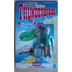 Thunderbirds personaggio Brains ingegnere 1992