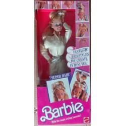 Barbie bambola Super Hair Acconciature Fantasia 1986
