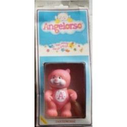 Pupazzo Angelorso tantemosse rosa