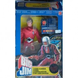 Mattel Big Jim personaggio Laser Gunner 1982