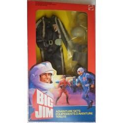 Mattel Big Jim tenuta Pilota guidatore carro mangiaostacoli All Terrain 1984