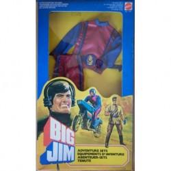 Mattel Big Jim tenuta Motociclista 1983