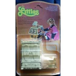 Mattel The Littles - armadio e culla