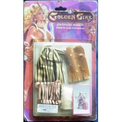 Golden Girl vestito Forest Fantasy 1984