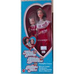 Famiglia Cuore Heart Family - bambola mamma baci e abbracci