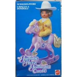 Famiglia Cuore Heart Family - cavallo a dondolo 1987