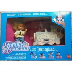 Famiglia Cuore Heart Family - gli amici di Disneyland park - treno
