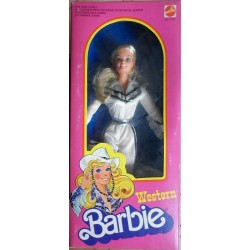 Barbie bambola Western europea viso Superstar