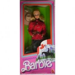 Barbie bambola DOTW del mondo canadese