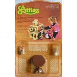 Mattel The Littles - tavolo rotondo marrone