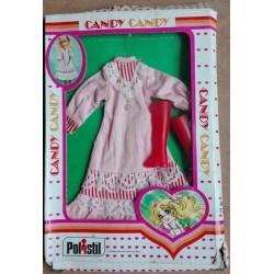 Vestito rosa con stivali per Bambola Candy Candy