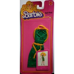 Vestito Barbie Best Buy Fashions verde