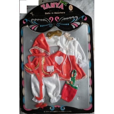 Vestito Ballo in Maschera per bambola Tanya