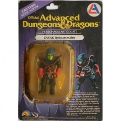 Dungeons & Dragons personaggio Zarak l'orco assassino