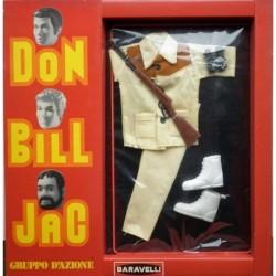 Personaggi Don Bill Jac - Completo caccia grossa