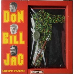 Personaggi Don Bill Jac - Completo da soldato