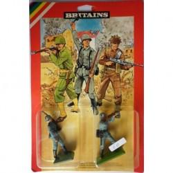 Britains 2 soldatini francesi 1/32