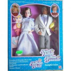 Famiglia Cuore Heart Family - bambole nonna e nonno