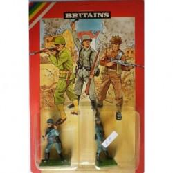 Britains 2 soldatini francesi 1/32 III