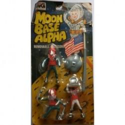 Soldatini astronauti discesa sulla luna Moon Base Alpha